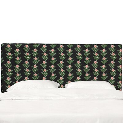 Wilmore Box Seam Upholstered Panel Headboard Size: King
