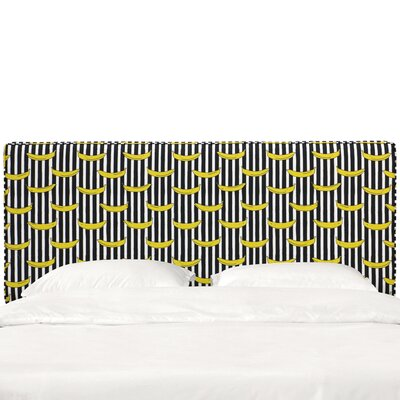 Eakes Seam Upholstered Panel Headboard Size: Queen