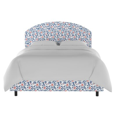 Chaidez Curved Upholstered Panel Bed Size: California King
