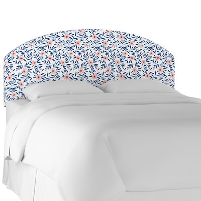 Chaidez Curved Upholstered Panel Headboard Size: Full