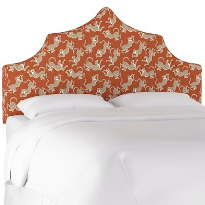 Hofstetter Notched Upholstered Panel Headboard Size: Twin