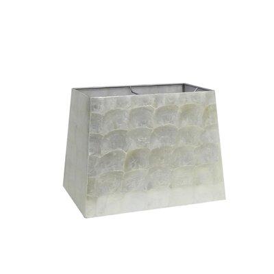 14 Capiz Shell Rectangular Lamp Shade