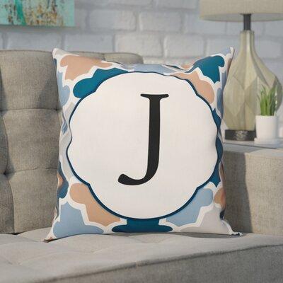 Comstock Monogram Throw Pillow Letter: J