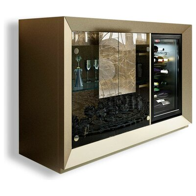 Laivai Bar Cabinet Color: High Gloss