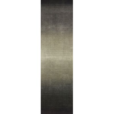 Hansford Ombre Hand-Woven Wool Gray Area Rug Rug Size: Runner 23 x 8