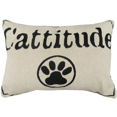 Thornhill Cattitude Tapestry Throw Pillow