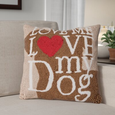 Voris Dog Love Throw Pillow