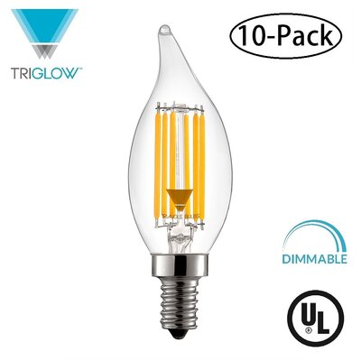 60W Equivalent E12 LED Candle Light Bulb