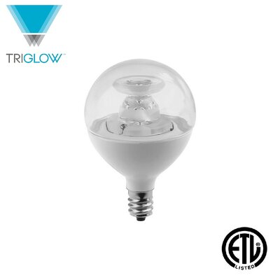 40W Equivalent E12 LED Globe Light Bulb
