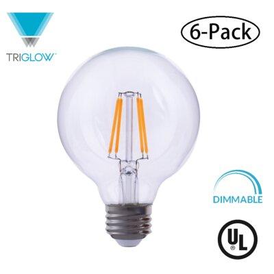 60W Equivalent E26 LED Globe Edison Light Bulb