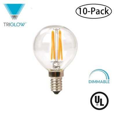 25W Equivalent E12 LED Globe Light Bulb