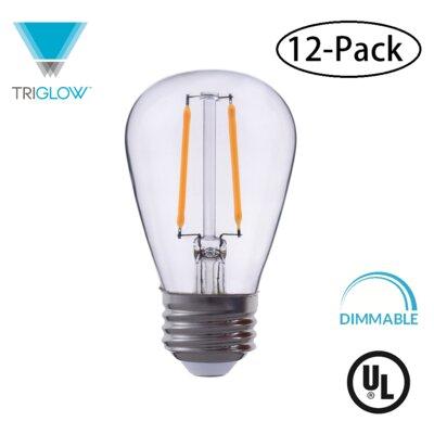 25W Equivalent E26 LED Standard Edison Light Bulb