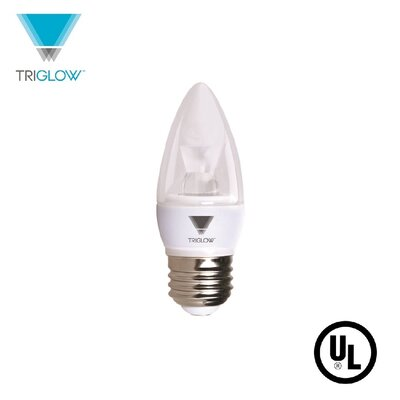 40W Equivalent E26 LED Candle Light Bulb Bulb Temperature: 5000K