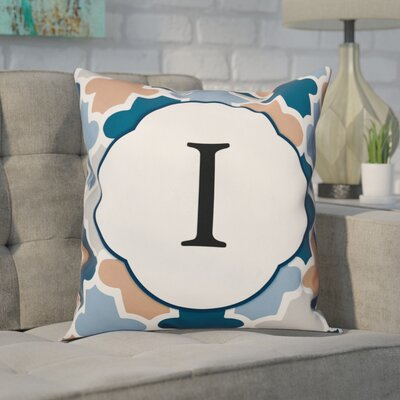 Comstock Monogram Throw Pillow Letter: I