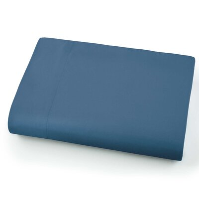 Chadwell Microfiber Flat Sheet Color: Coronet Blue