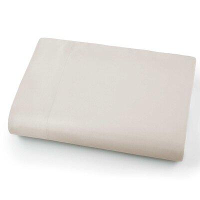 Chadwell Microfiber Flat Sheet Color: Bone
