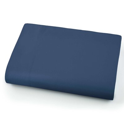 Chadwell Microfiber Flat Sheet Color: Dark Blue