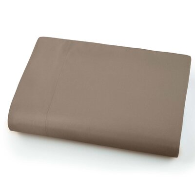Chadwell Microfiber Flat Sheet Color: Dark Taupe