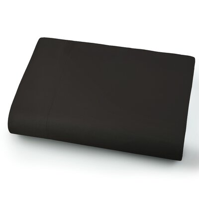 Chadwell Microfiber Flat Sheet Color: Black