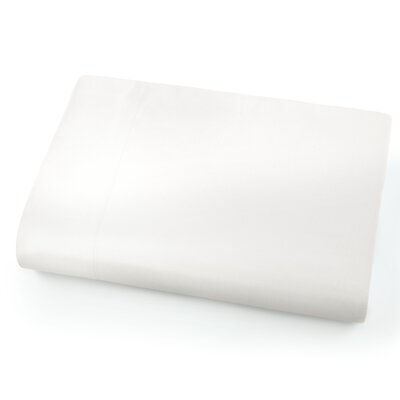 Chadwell Microfiber Flat Sheet Color: Bright White
