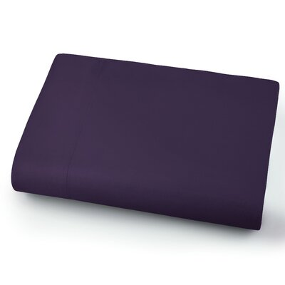 Chadwell Microfiber Flat Sheet Color: Purple