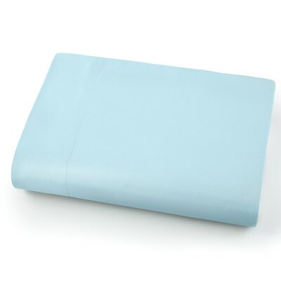 Chadwell Microfiber Flat Sheet Color: Sky Blue