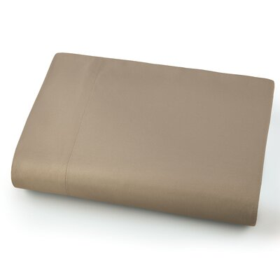 Chadwell Microfiber Flat Sheet Color: Taupe