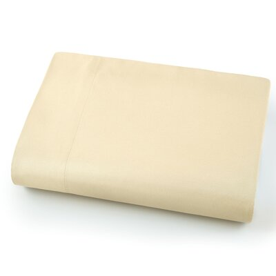 Chadwell Microfiber Flat Sheet Color: Off-White