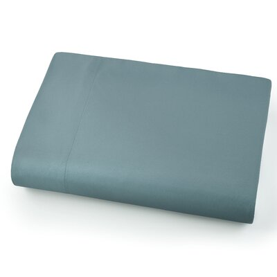Chadwell Microfiber Flat Sheet Color: Steel Blue