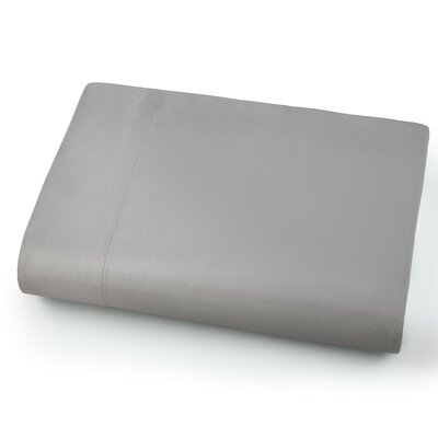 Chadwell Microfiber Flat Sheet Color: Steel Gray