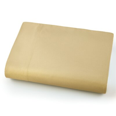 Chadwell Microfiber Flat Sheet Color: Gold