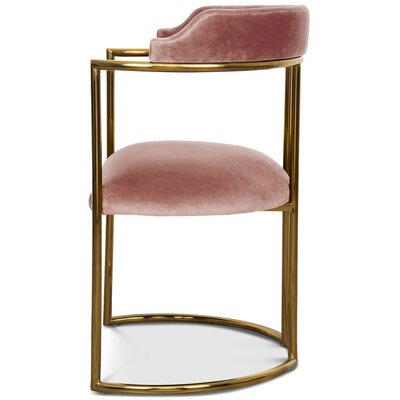 Acapulco Upholstered Dining Chair Upholstery Color: Mauve