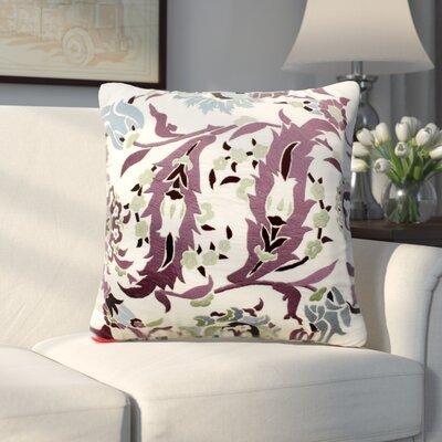 Hilger Antique Floral Throw Pillow
