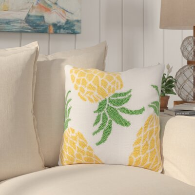 Churchill Pineapple Throw Pillow