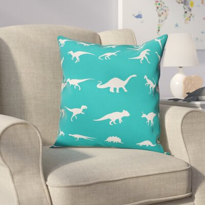 Ericksen Dinosaur Throw Pillow