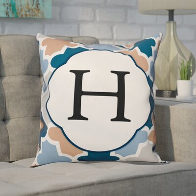 Comstock Monogram Throw Pillow Letter: H