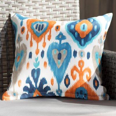 Arleigh Outdoor Throw Pillow Size: 16 H x 16 W x 6 D
