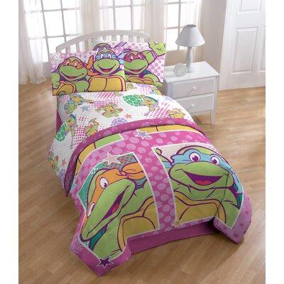 Nickelodeon Teenage Mutant Ninja Turtles Shell Tastic Full Polyester 4 Piece Sheet Set