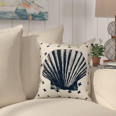 Heitman Nautical Shell Throw Pillow