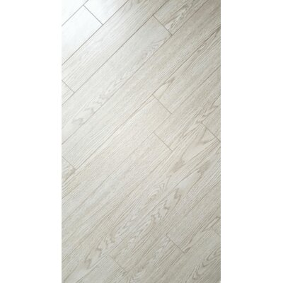 4 x 32 x 8mm Bamboo Laminate Flooring in Modern White