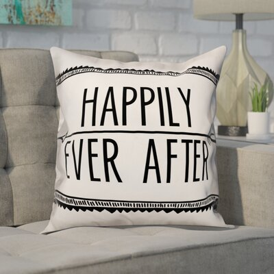 Delphinus Happily Ever After Throw Pillow