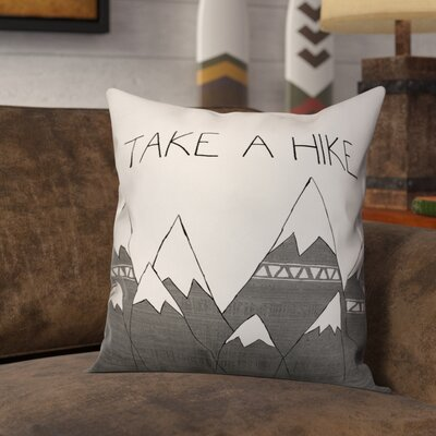 Lower West Side Take a Hike Throw Pillow