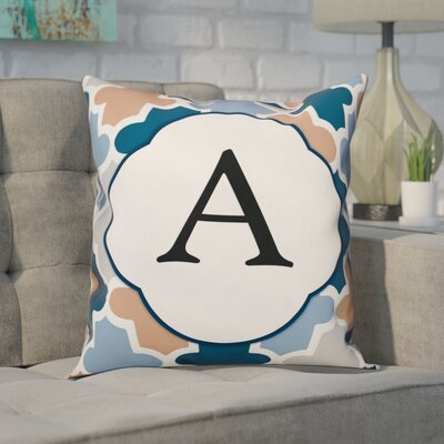 Comstock Monogram Throw Pillow Letter: A