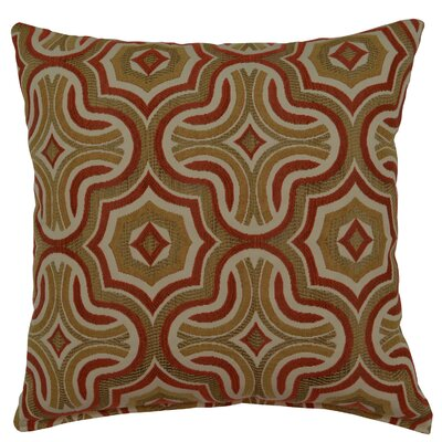 Pfannenstiel Throw Pillow Pillow Cover Color: Persimmon