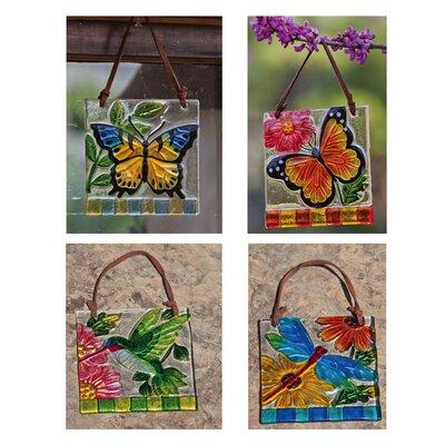 Puliafico Plaques 4 Piece Garden Art 6A09EC9CCED543A6AE48BAD3FFE217FC