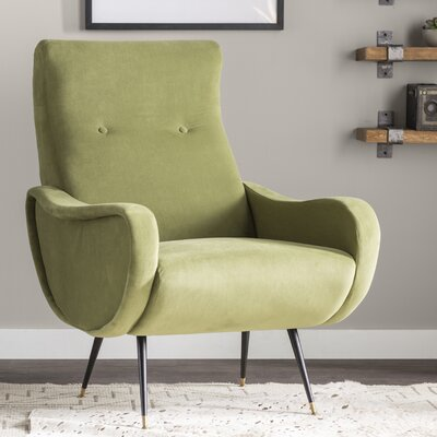 Naya Armchair Upholstery: Hunter Green
