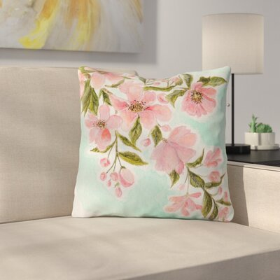 Chieko by Christen Treat Throw Pillow Size: 26 H x 26 W x 5 D
