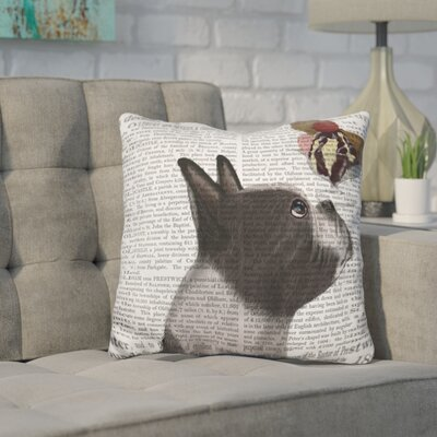 Cordray Terrier Ice Cream Throw Pillow