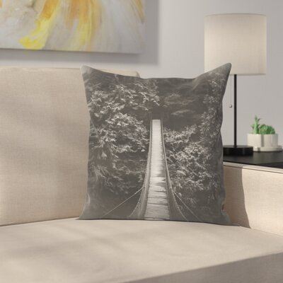 Luke Gram Lynn Valley Vancouver Throw Pillow Size: 14 x 14