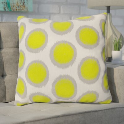 Mcelhaney Throw Pillow Color: Green